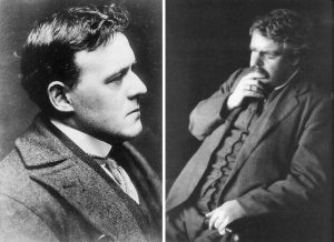 Hillaire Belloc and GK Chesterton
