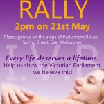 Rally to support the Infant Viability Bill!